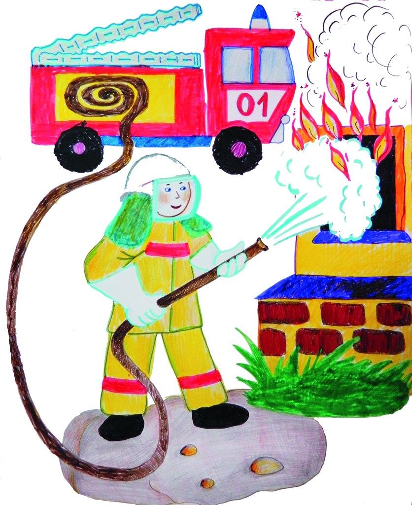 Картинки коллекции, открытки пожарная безопасность