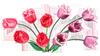 Весенние цветы смайлики