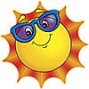 Солнышко, солнце смайлик