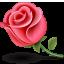 Цветы Розочка, flower смайлики, картинки, фото, рисунки, gif анимации, аватары