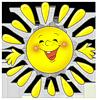 Солнце, солнышко смайлики