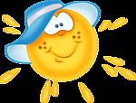 Солнце, солнышко cмайлики