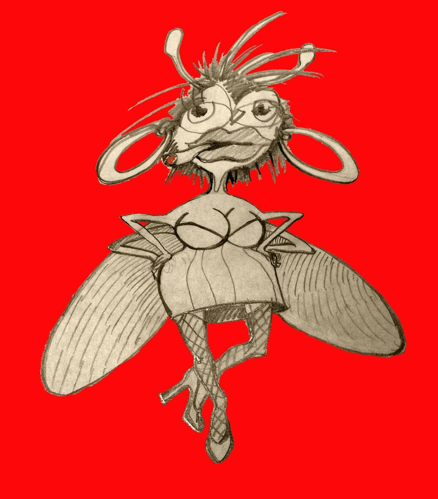 Сонная муха прикольные картинки
