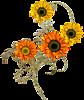 Цветы весны смайлик